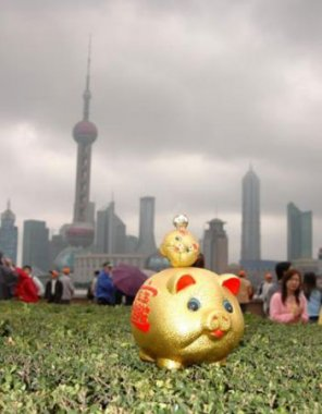 Pigs in Shanghai