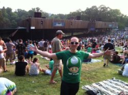 At the Phish show