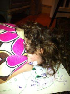 Vivian Sleeping